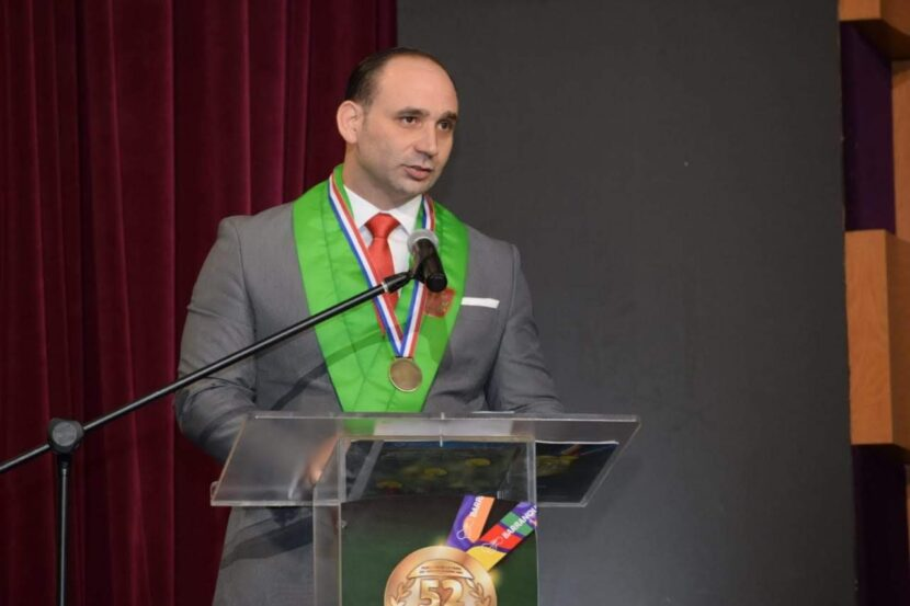 Vicbart Geraldino se mantiene ligado al judo a través de un Dojo en el que forma a infantes a través de los valores.