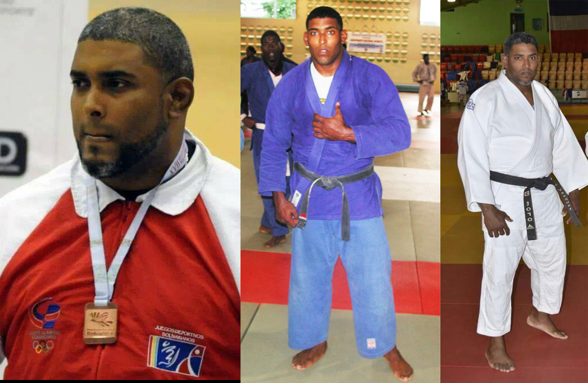 José Eugenio Vásquez, ex atleta de judo y hoy entrenador de esa disciplina.