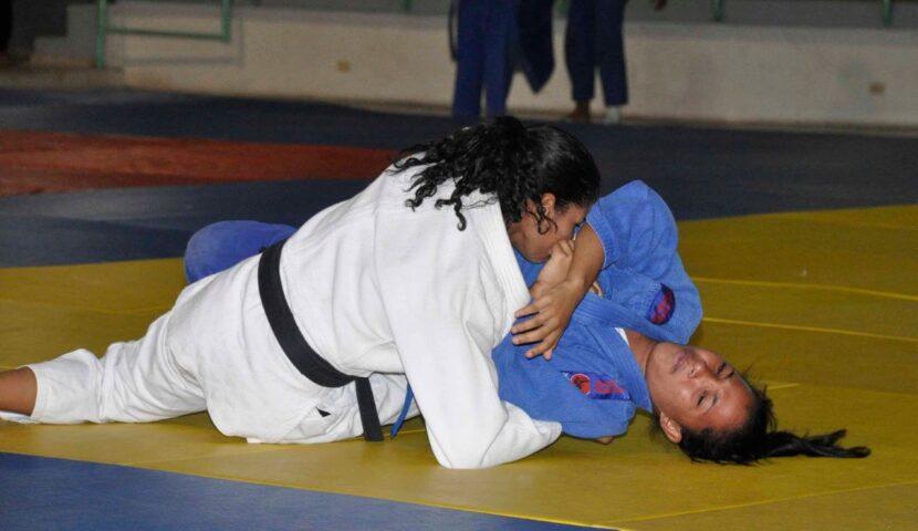 Acción de uno de los torneos regionales de la categoría cadete y junior (archivo).