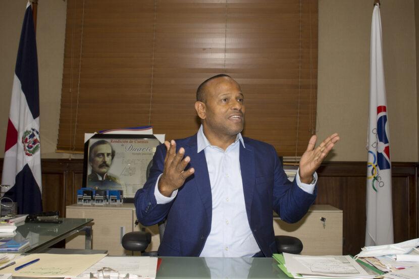 Licenciado Gilberto García, presidente de la Federación Dominicana de Judo.