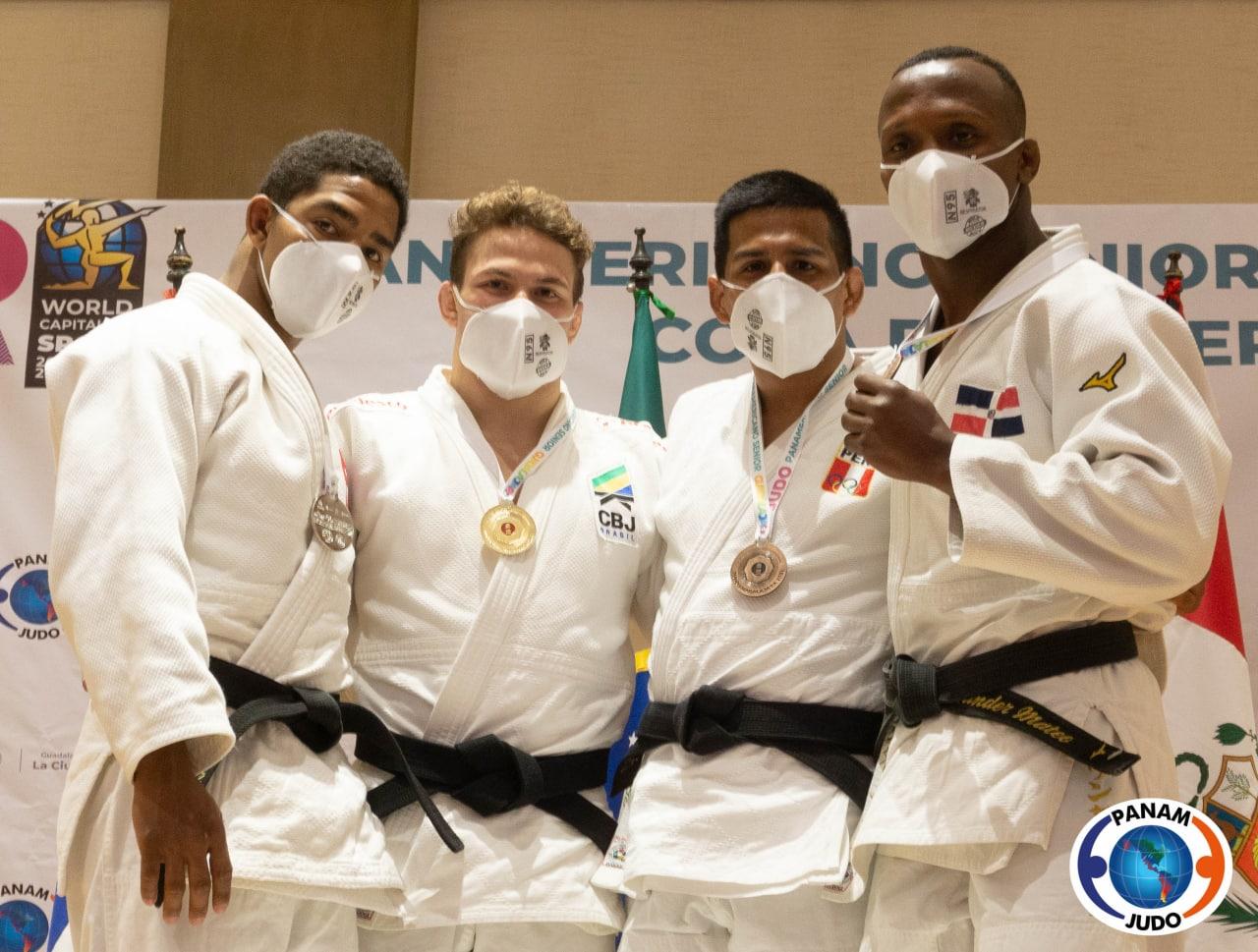 Wander Mateo, bronce en clasificatorio olímpico de judo