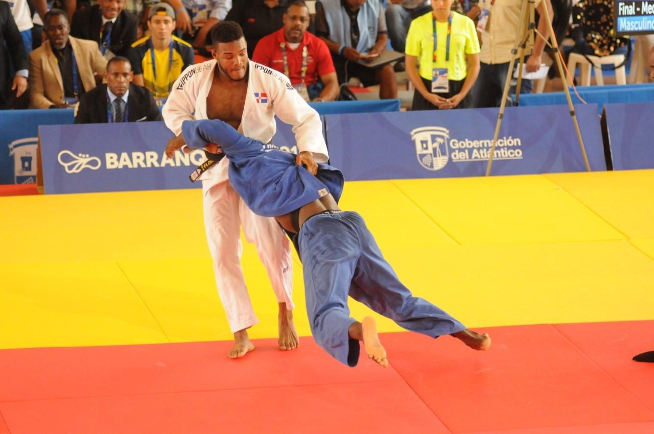 Robert Florentino subirá al tatami en la categoría menos 91 kilos.
