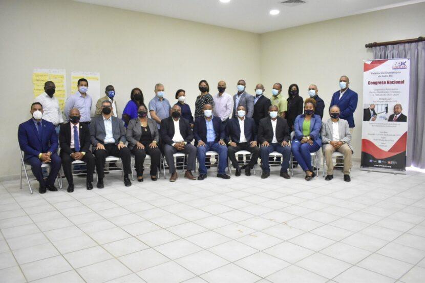 """Miembros del comité ejecutivo de la Fedojudo e invitados al encuentro Diagnóstico Participativo de Planificación""""."""