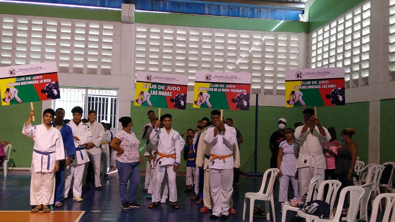 reunion clubes de judo de la vega